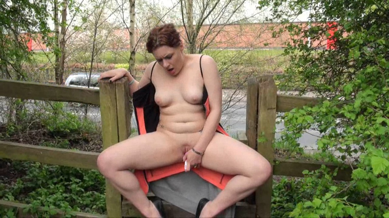 Girl Masturbating In Public Park By twistedworlds